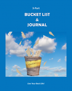 3-Part Bucket List & Journal