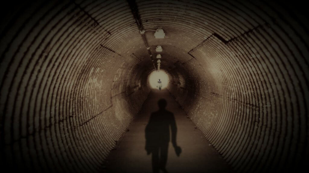 unknown, liminal, tunnel